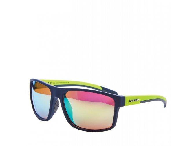 Slnečné okuliare BLIZZARD sun glasses PCSF703130, rubber dark blue , 66-17-140 (Veľkosť 66-17-140)