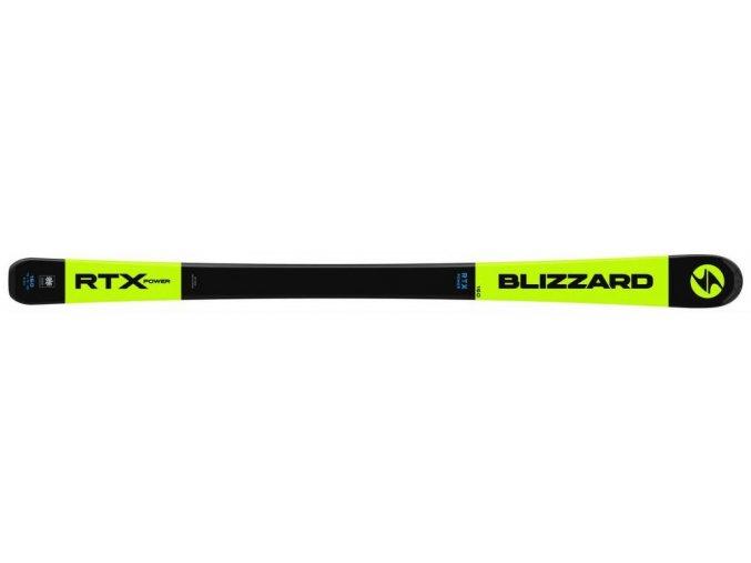 Lyže BLIZZARD RTX Power žlté, flat 19/20 (Veľkosť 153 II.)