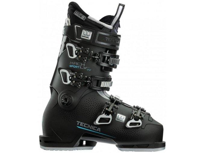 lyžařské boty TECNICA Mach Sport LV 85 W, black, 20/21 (Veľkosť MP 225 = UK 3 1/2 = EU 36)