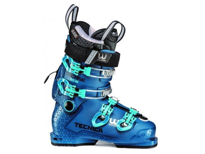lyžařské boty TECNICA Cochise 95 W, dark process blue, 19/20 (Veľkosť MP 235 = UK 4 1/2 = EU 37 1/2)
