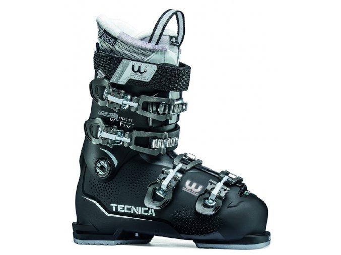 lyžařské boty TECNICA Mach Sport 95 HV W, black, 18/19 (Veľkosť MP 265 = UK 7 1/2 = EU 41 1/2)