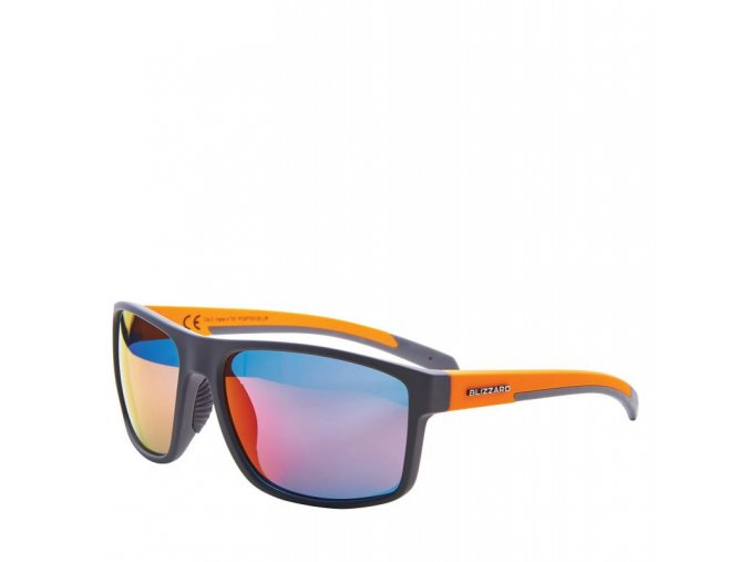 Slnečné okuliare BLIZZARD sun glasses PCSF703120, rubber dark grey, 66-17-140 (Veľkosť 66-17-140)