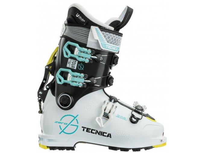 lyžařské boty TECNICA ZERO G TOUR W, white/black, 20/21 (Veľkosť MP 235 = UK 4 1/2 = EU 37 1/2)