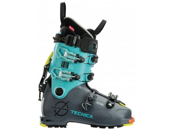 lyžařské boty TECNICA ZERO G TOUR SCOUT W, gray/light blue, 20/21 (Veľkosť MP 235 = UK 4 1/2 = EU 37 1/2)
