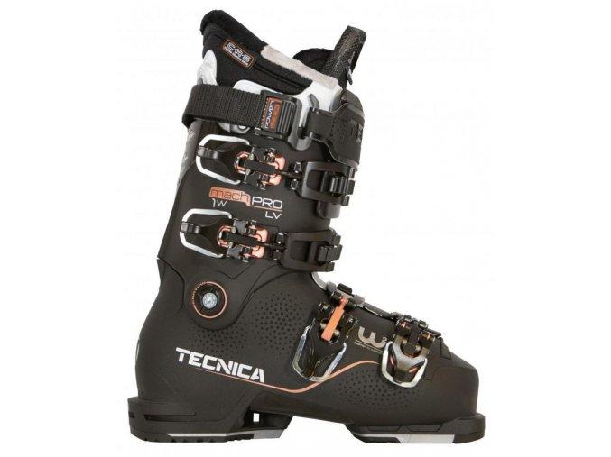 lyžařské boty TECNICA Mach1 LV PRO W, black, 19/20 (Veľkosť MP 260 = UK 7 = EU 40 2/3)