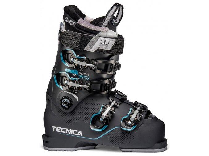 lyžařské boty TECNICA Mach Sport MV 95 X W, graphite, 19/20 (Veľkosť MP 245 = UK 5 1/2 = EU 38 2/3)