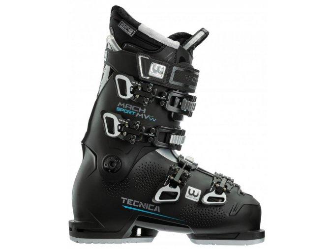 lyžařské boty TECNICA Mach Sport MV 85 W, black, 20/21 (Veľkosť MP 225 = UK 3 1/2 = EU 36)