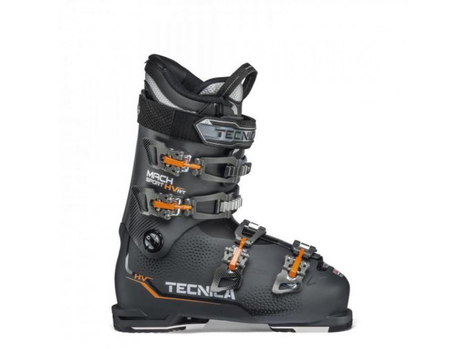 lyžařské boty TECNICA Mach1 90 MV RT, graphite, rental, 19/20 (Veľkosť MP 280 = UK 9 = EU 43 1/3)