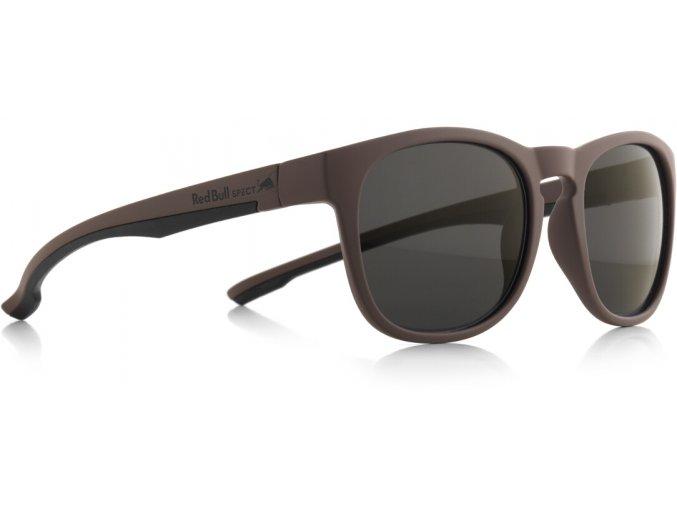 Slnečné okuliare RED BULL SPECT Sun glasses, OLLIE-004P, brown, smoke POL, 53-20-145