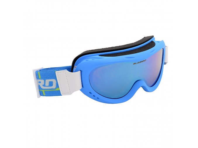 Lyžiarske okuliare BLIZZARD Ski Gog. 907 MDAZO, neon blue matt, smoke2, blue mirror