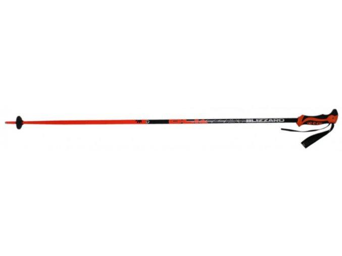 lyžařské hůlky BLIZZARD Allmountain ski poles, neon orange (Veľkosť 115)