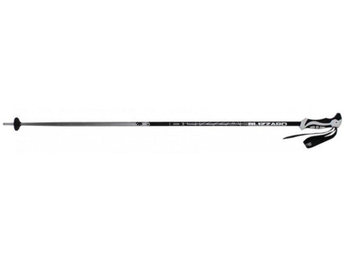 lyžařské hůlky BLIZZARD Allmountain ski poles, silver (Veľkosť 110)