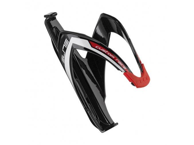 Košík CUSTOM RACE čierno/červený lesklý