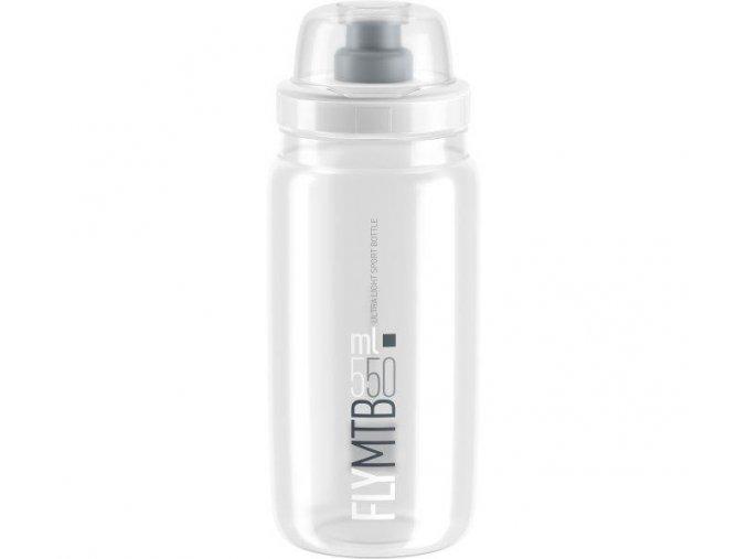 Fľaša FLY MTB transparentná 550 ml