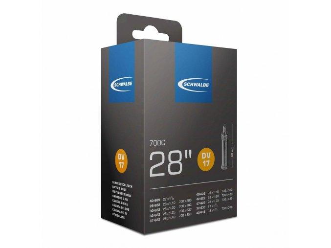 Duša 700x28/45C DV 40mm (40/47-622) 150g