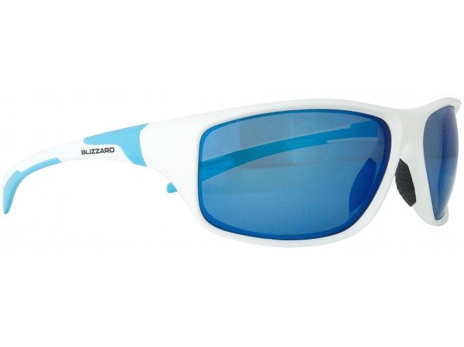 Slnečné okuliare BLIZZARD sun glasses POL202-0041 white shiny, 70-17-125