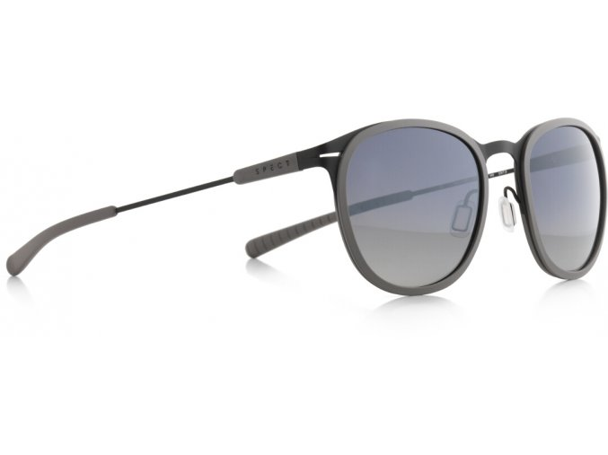 Slnečné okuliare SPECT Sun glasses, SKILL-003P, grey, smoke gradient with silver flash POL, 50-21-140