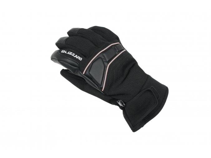 Lyžiarske rukavice BLIZZARD Profi ski gloves, black/silver