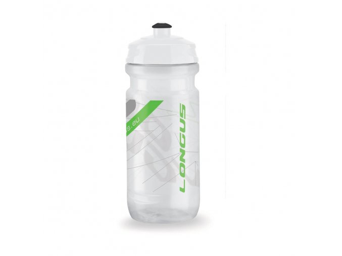 Fľaša TESA 600ml číra/zelená