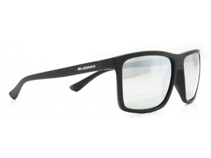 Slnečné okuliare BLIZZARD sun glasses POLSC801011, rubber black, 65-17-140
