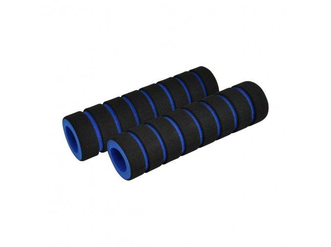 Madlá FOUMY čierne/modré, penové