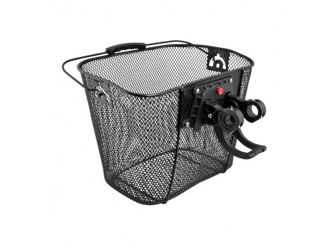 Košík na riadítka sieť s rýchloupínaním