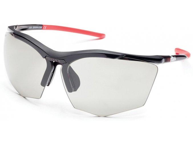 sluneční brýle RH+ Super Stylus, black/red, varia grey lens