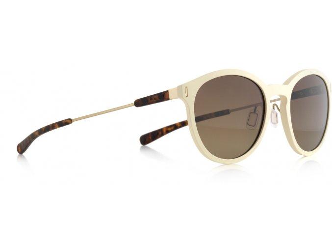 Slnečné okuliare SPECT Sun glasses, SOUND-004P, beige, brown gradient POL, 51-20-140