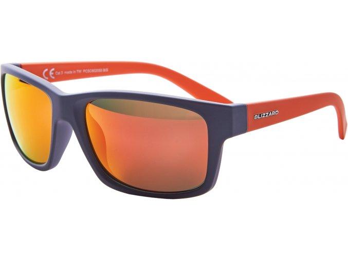 Slnečné okuliare BLIZZARD sun glasses PCSC602055, rubber cool grey, 67-17-135
