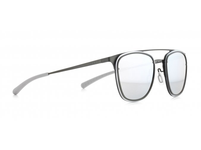 Slnečné okuliare SPECT Sun glasses, ENCINO-004P, silver, grey, smoke with blue mirror POL, 55-18-140
