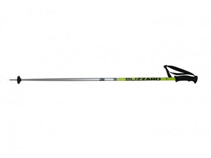 Lyžiarske palice BLIZZARD Sport ski poles, black/yellow/silver