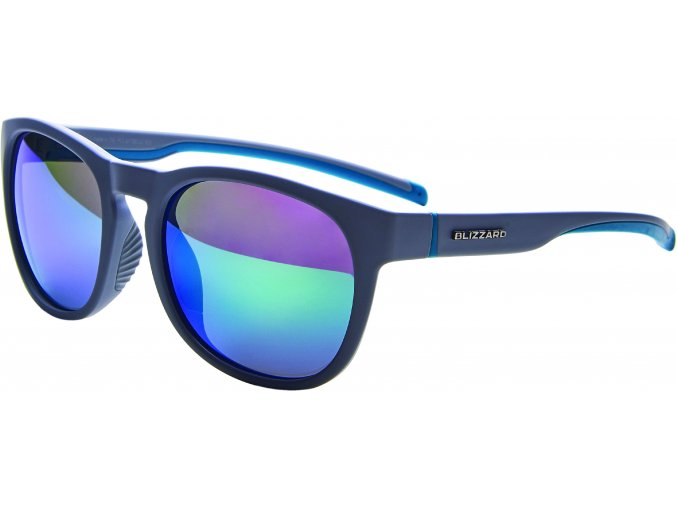Slnečné okuliare BLIZZARD sun glasses POLSF706120, rubber cool grey, 60-14-133