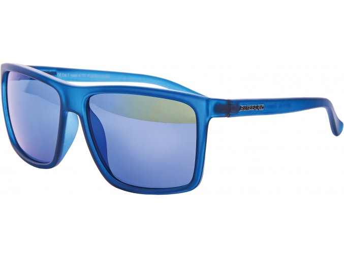 Slnečné okuliare BLIZZARD sun glasses PCSC801153, rubber trans. dark blue, 65-17-140