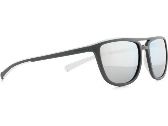Slnečné okuliare SPECT Sun glasses, SPIKE-004P, green, white, smoke with silver flash POL, 56-17-140