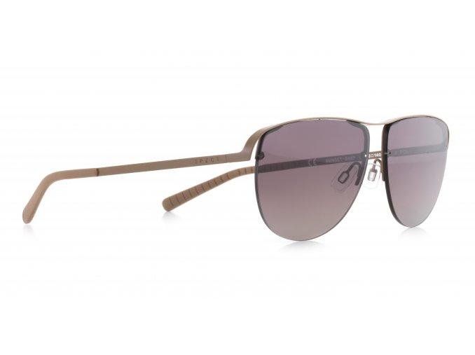 Slnečné okuliare SPECT Sun glasses, SUNSET-003P, beige, beige, brown gradient POL, 57-13-140