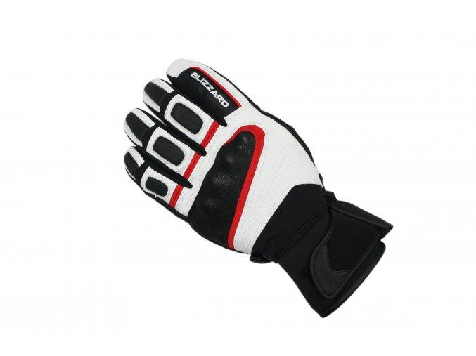 Lyžiarske rukavice BLIZZARD Competition ski gloves, black/white/red