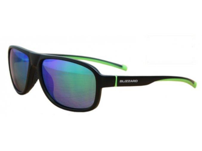 Slnečné okuliare BLIZZARD sun glasses POLSF705140, rubber trans. dark blue, 65-16-135