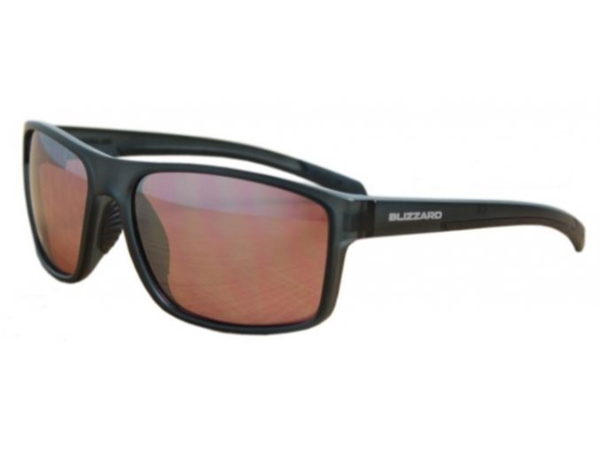 sluneční brýle BLIZZARD sun glasses POLSF703130, rubber dark blue, 66-17-140