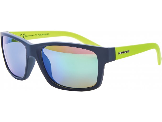Slnečné okuliare BLIZZARD sun glasses PCSC602035, rubber dark green, 67-17-135