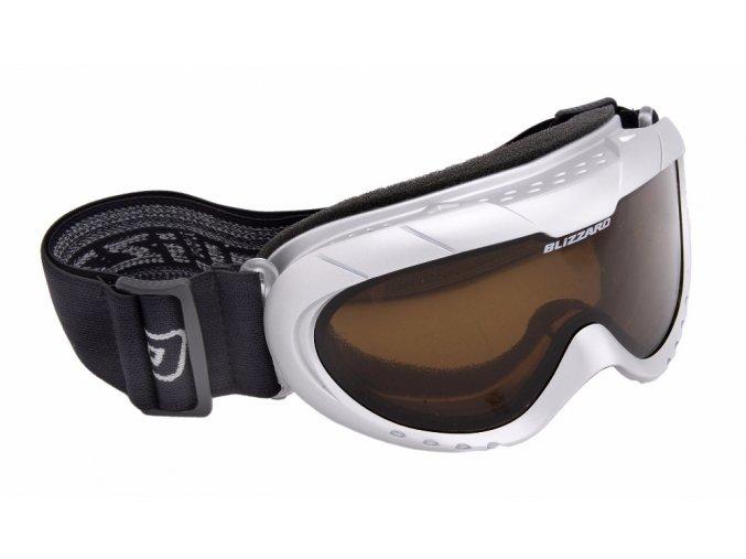 Lyžiarske okuliare BLIZZARD Ski Gog. 902 DAO, silver shiny, dark bronze2