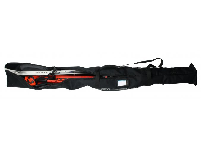 vak na lyže BLIZZARD Ski + XC bag for 2 pairs, black, 210 cm