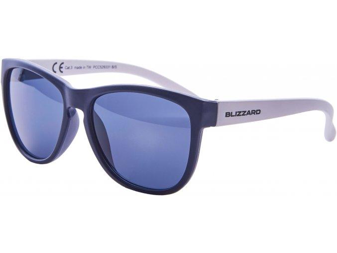 Slnečné okuliare BLIZZARD sun glasses PCC529331, dark blue matt, 55-13-118