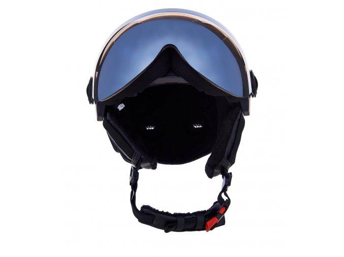 Lyžiarska prilba BLIZZARD Double Visor Black Matt (Veľkosť 56-59)
