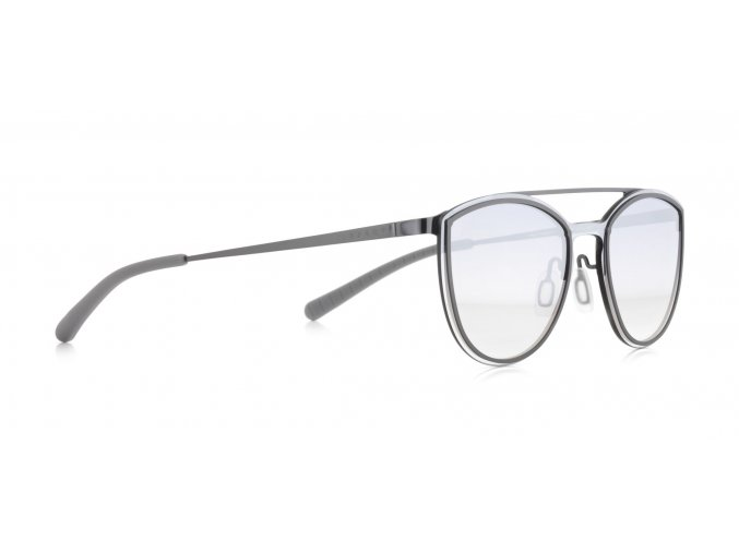 Slnečné okuliare SPECT Sun glasses, ELECTRA-002, gun, grey, smoke gradient with gradient silver flash, 124-0-140