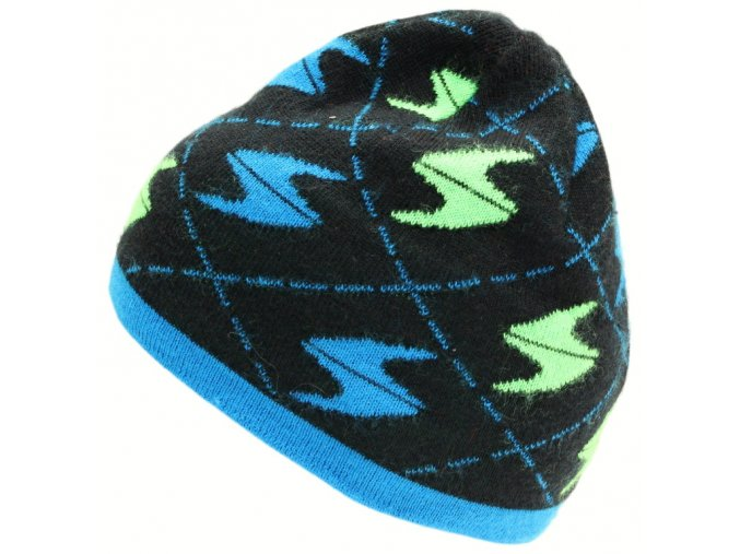 čepice BLIZZARD Saalbach, black/blue