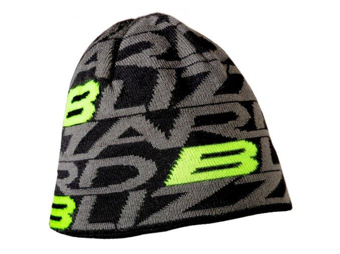 čepice BLIZZARD Dragon cap, black/green