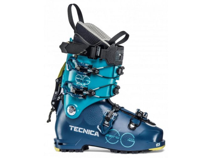 lyžařské boty TECNICA Zero G Tour Scout W, ocean blue/blue bird, 19/20