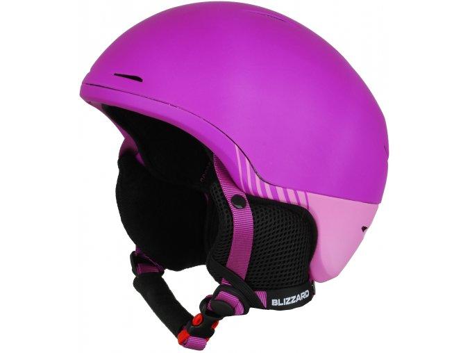 helma BLIZZARD Speed ski helmet junior, violet matt/pink matt (Veľkosť 51-54)
