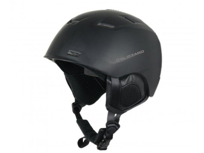 helma BLIZZARD Storm ski helmet, black matt (Veľkosť 59-63)