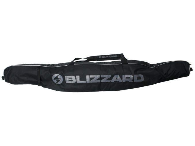 vak na lyže BLIZZARD Ski bag Premium for 1 pair, black/silver, 165-185 cm (Veľkosť 165-185 cm)